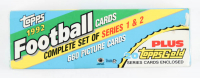 1992 Topps Complete Set of (660) Football Cards at PristineAuction.com