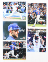Lot of (5) Signed Cubs 8x10 Photos with Mike Montgomery, Hector Rondon, Matt Szczur, Miguel Montero & Jon Lester (Beckett COA & Schwartz COA) at PristineAuction.com