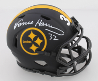 Franco Harris Signed Steelers Eclipse Alternate Speed Mini Helmet (Beckett COA) at PristineAuction.com