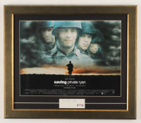 "Tom Hanks Signed ""Saving Private Ryan"" 17.5x20.5 Custom Framed Cut Display (PSA COA) at PristineAuction.com"