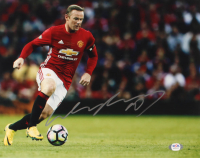 Wayne Rooney Signed Manchester United 11x14 Photo (PSA COA) at PristineAuction.com