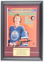 Wayne Gretzky 12x17 Custom Framed 1981 Sports Illustrated Magazine Display at PristineAuction.com