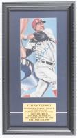 Carl Yastrzemski Signed Red Sox 10x18 Custom Framed Print Display (PSA COA) at PristineAuction.com