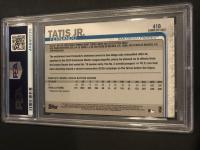 Fernando Tatis Jr. 2019 Topps Complete Set #410 RC (PSA 9) at PristineAuction.com