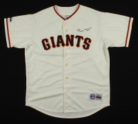 Willie Mays Signed Giants Jersey (Willie Mays Hologram) at PristineAuction.com
