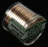 Ballistic Roll of (12) Never Circulated William Henry Harrison Presidential Dollars at PristineAuction.com
