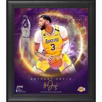 "Anthony Davis Lakers 15x17 Custom Framed Fanatics ""Stars of the Game Collage"" Print at PristineAuction.com"
