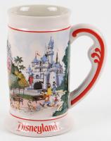 Vintage Disneyland Stein Tankard with Souvenir Bag at PristineAuction.com
