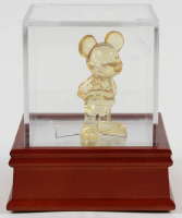 Vintage Mickey Mouse Figurine with Display Case at PristineAuction.com