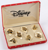 """Walt Disney """"Snow White and the Seven Dwarfs"""" Vintage Boxed Set of (7) Pins at PristineAuction.com"""