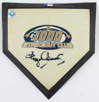 Roger Clemens Signed Mini Home Base Plate (MLB Hologram) at PristineAuction.com