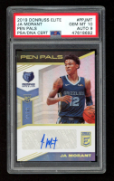 Ja Morant 2019-20 Elite Pen Pals #17 (PSA 10) at PristineAuction.com