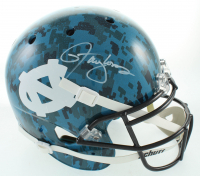 Lawrence Taylor Signed Full-Size Hydro-Dipped Helmet (JSA COA) at PristineAuction.com