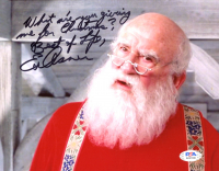"Ed Asner Signed ""Elf"" 8x10 Photo with Inscription (PSA COA) at PristineAuction.com"