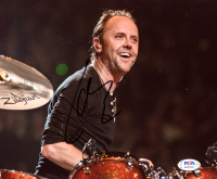 Lars Ulrich Signed 8x10 Photo (PSA COA) at PristineAuction.com