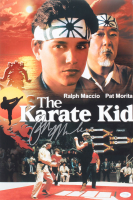 "Ralph Macchio Signed ""The Karate Kid"" 12x18 Photo (AutographCOA COA) at PristineAuction.com"