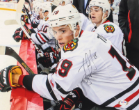 Jonathan Toews Signed Blackhawks 11x14 Photo (PSA COA) at PristineAuction.com