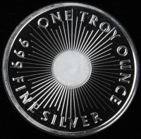 Sunshine Minting .999 One Troy Ounce Fine Silver Bullion Round at PristineAuction.com