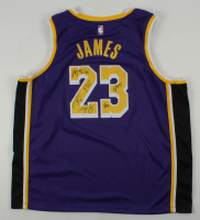 Lakers Jersey Team Signed by (7) with Kentavious Caldwell-Pope, Frank Vogel, Dwight Howard, Jared Dudley (JSA ALOA) at PristineAuction.com