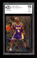 Kobe Bryant 1996-97 Metal #181 RC (BCCG 10) at PristineAuction.com