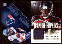 Lot of (2) DeAndre Hopkins Cards with 2014 Prestige Top of the Class #3 RC & 2013 Absolute Rookie Jersey Collection #5 RC at PristineAuction.com