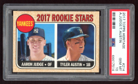 Aaron Judge RC / Tyler Austin RC 2017 Topps Heritage #214A RC (PSA 10) at PristineAuction.com