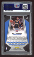 Paul George Signed 2017-18 Panini Prizm #264 (PSA Encapsulated) at PristineAuction.com