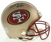 Jerry Rice Signed 49ers Full-Size Authentic On-Field Helmet (TriStar Hologram) at PristineAuction.com