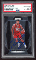 Ben Simmons Signed 2017-18 Panini Prizm Prizms Silver #9 (PSA Encapsulated) at PristineAuction.com