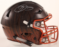 Odell Beckham Jr. Signed Browns Full-Size Authentic On-Field Hydro Dipped SpeedFlex Helmet (JSA COA) at PristineAuction.com