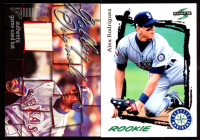 Lot of (2) Alex Rodriguez Cards with 2003 Topps Gallery Originals Bat Relics #AR C #1 & 1995 Score #312 at PristineAuction.com