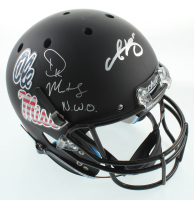 """A.J. Brown & DK Metcalf Signed Full-Size Speed Helmet Inscribed """"N.W.O."""" (JSA COA) at PristineAuction.com"""