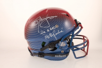 "Lawrence Taylor Signed Full-Size Authentic On-Field Hydro-Dipped Vengeance Helmet Inscribed ""Im A Bad M***********"" (JSA COA) at PristineAuction.com"
