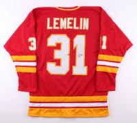 Reggie Lemelin Signed Jersey (JSA Hologram) at PristineAuction.com
