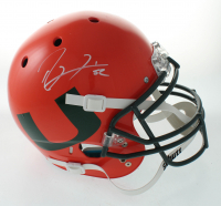 Ray Lewis Signed Full-Size Authentic On-Field Hydro Dipped Helmet (Beckett COA) at PristineAuction.com