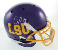 Clyde Edwards-Helaire Signed Full-Size Helmet (Beckett COA) at PristineAuction.com