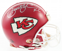 "Priest Holmes Signed Chiefs Full-Size Authentic On-Field Helmet Inscribed ""KC"" (JSA COA) at PristineAuction.com"