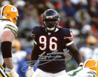 Alex Brown Signed Bears 8x10 Photo (Beckett COA) at PristineAuction.com