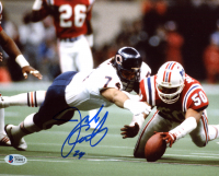 Jim Covert Signed Bears 8x10 Photo (Beckett COA) at PristineAuction.com