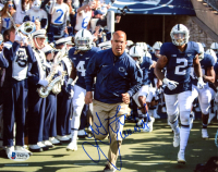 """James Franklin Signed Penn State Nittany Lions 8x10 Photo Inscribed """"We Are"""" (Beckett COA) at PristineAuction.com"""