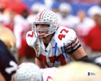 A. J. Hawk Signed Ohio State Buckeyes 8x10 Photo (Beckett COA) at PristineAuction.com