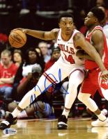 Wendell Carter, Jr. Signed Bulls 8x10 Photo (Beckett COA) at PristineAuction.com