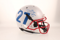 Brandon Jacobs Signed Full-Size Authentic On-Field Hydro Dipped Helmet (Beckett COA) at PristineAuction.com