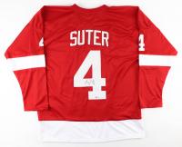 Ryan Suter Signed Jersey (Beckett COA & TSE Hologram) at PristineAuction.com
