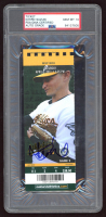Ichiro Suzuki Signed 2011 Ticket (PSA Encapsulated) at PristineAuction.com