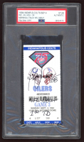 "Marshall Faulk Signed Authentic 1994 Ticket Inscribed ""NFL Debut"" & ""1st TD"" (PSA Encapsulated) at PristineAuction.com"
