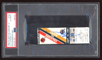 Deion Sanders Signed Authentic 1989 Ticket (PSA Encapsulated) at PristineAuction.com