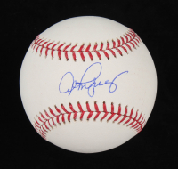 Alex Rodriguez Signed OML Baseball (MLB Hologram) at PristineAuction.com