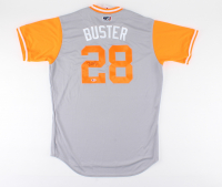 "Buster Posey Signed Giants ""Player's Weekend"" Jersey (Beckett COA) at PristineAuction.com"