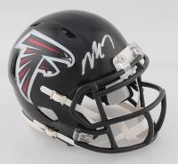 Michael Vick Signed Falcons Speed Mini Helmet (Beckett COA) at PristineAuction.com